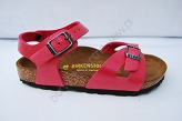 Birkenstock Rio Rose Red Graceful Birko-Flor 43192 3