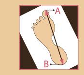 Jak dobrać rozmiar obowia zdrowotnego, długość stopy