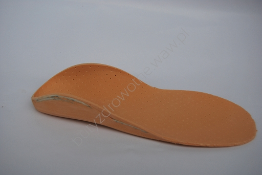 Wkładki korytkowe korygyją stopy płasko-koślawe